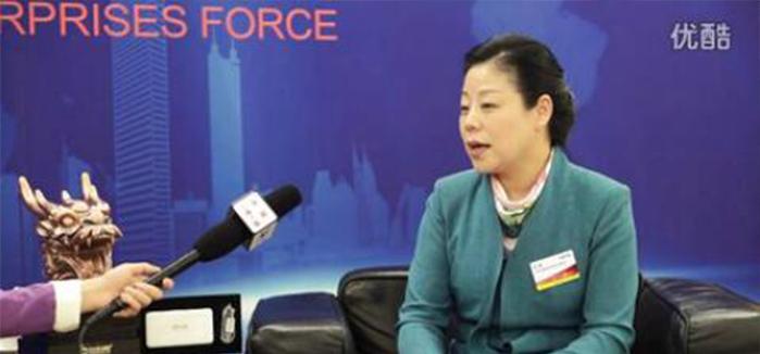 包扮网品牌创始人在北京全国人大会议中心接受CCTV采访