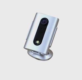 灵巧型银色智能网络摄像机