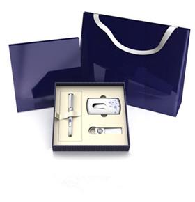 礼品套装(签字笔+名片夹+钥匙扣)