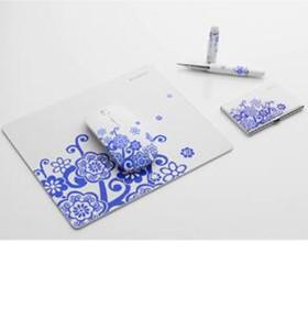 礼品套装(鼠标+鼠标垫+笔+名片盒)