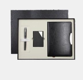 商务套装(笔+名片盒+笔记本)