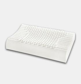 天然乳胶枕枕头白色养生保健按摩枕
