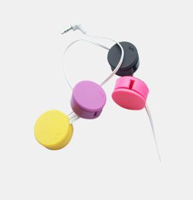 糖果色耳机屏幕擦绕线器