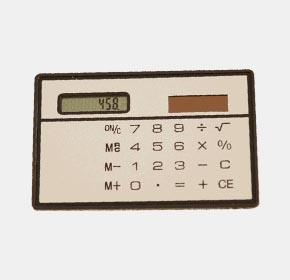 卡片式超薄计算器