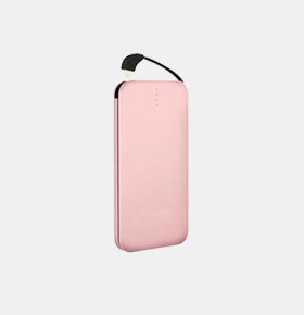 10000MAH自带线便携式手机充电宝