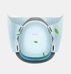 智能电动防雾霾口罩