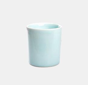 青瓷手工雕刻带底座喜庆陶瓷情侣对杯