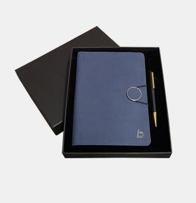 智指尖多功能无线充电记事本+印章笔套装