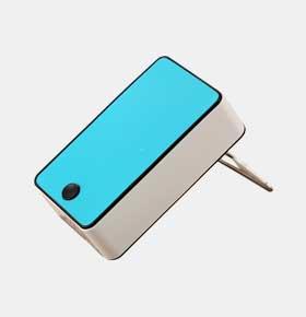 无叶风扇USB迷你可充电掌上空调