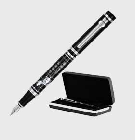 duke公爵钢笔金属商务钢笔中非部长系列