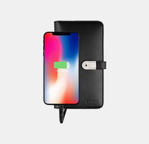 U盘充电手机手包(U盘充电手包)